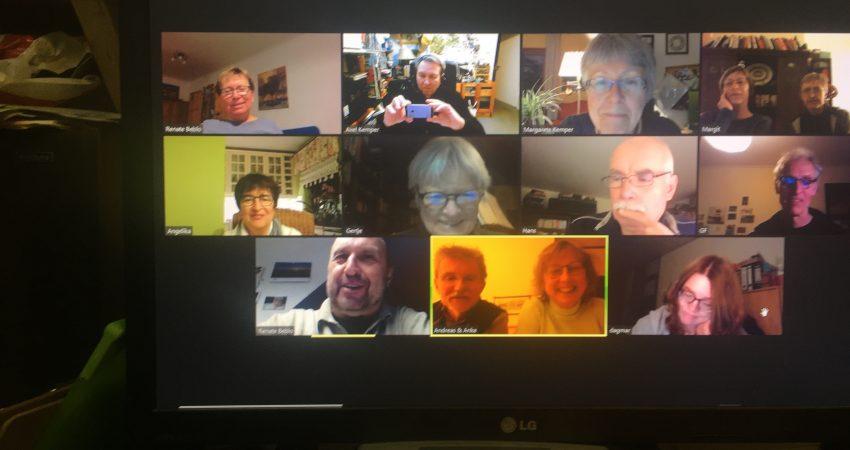 Zoom-Sitzung vom 19. Januar 2021
